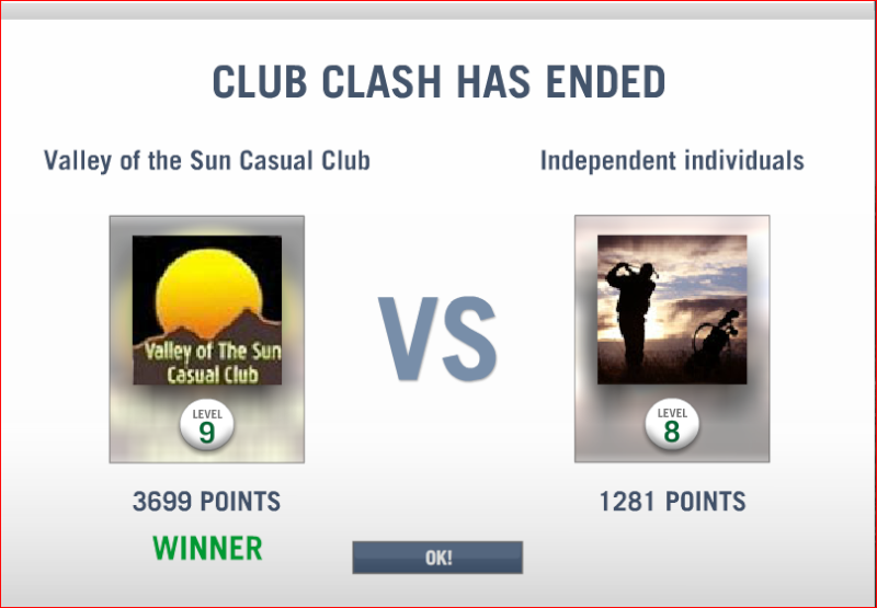 CLASH # 7 RESULTS  Clash_12