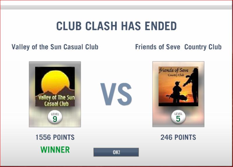 CLASH # 7 RESULTS  Clash_14