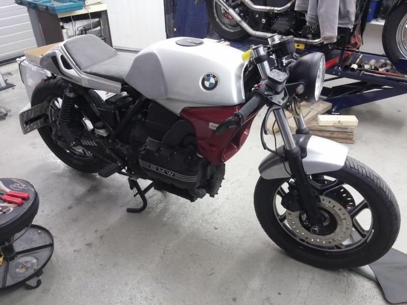 BMW K75 goes cafe racer 20151011