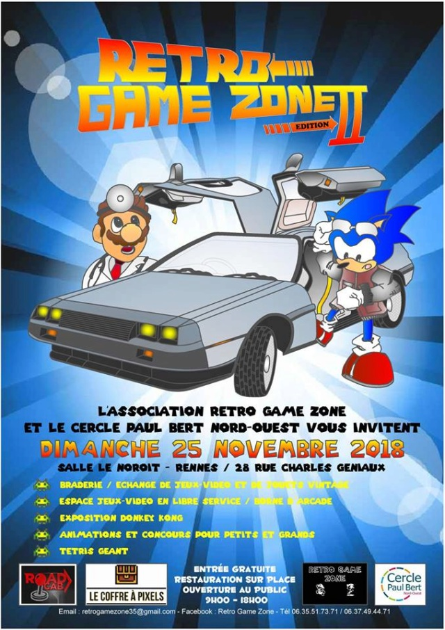 Retro Game Zone (convention retrogaming a rennes) Affich11