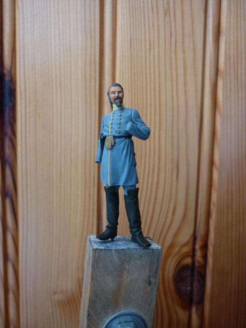 """3è Rgt de Volontaires de Georgie - Richmond Hiver 1861-1862  """"""""TERMINE"""""""" P1060020"""