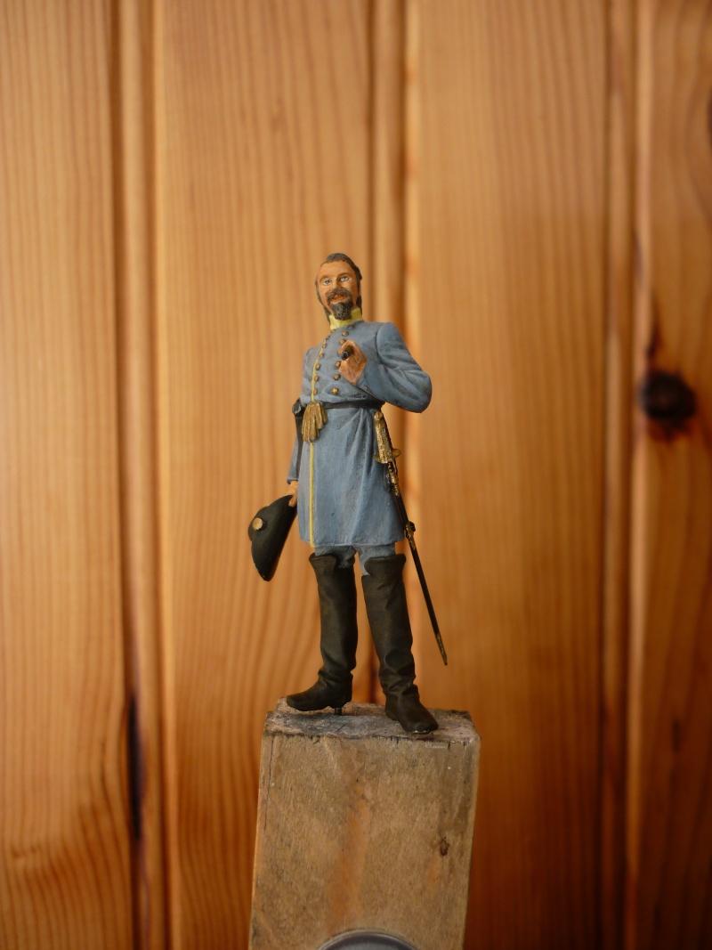 """3è Rgt de Volontaires de Georgie - Richmond Hiver 1861-1862  """"""""TERMINE"""""""" P1060021"""
