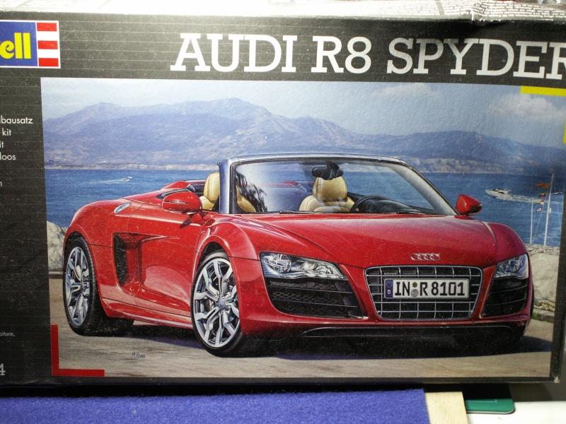 Audi r8 spyder 1:24 de Revell Pict0454