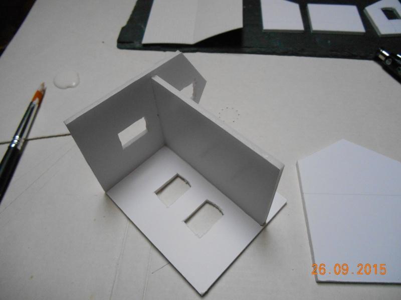 Construire un bâtiment de A à Z : une maison de garde-barrières Dscn1234