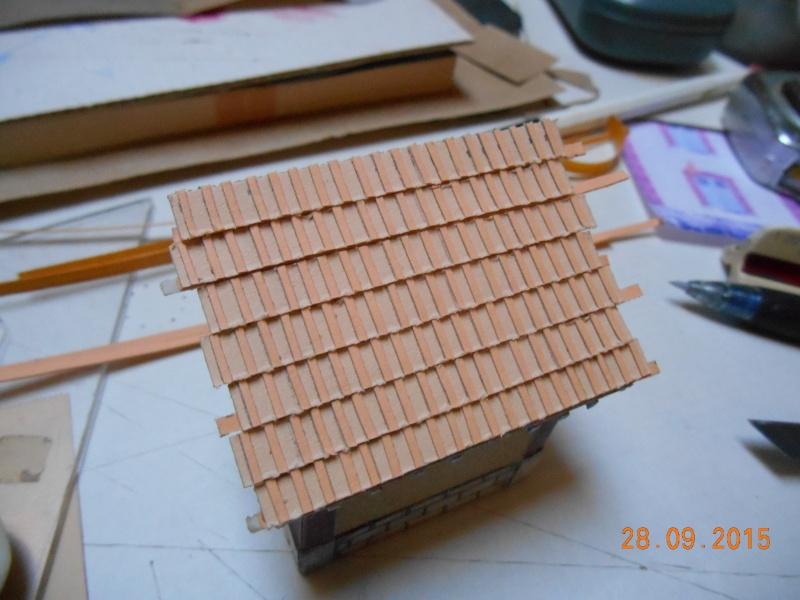 Construire un bâtiment de A à Z : une maison de garde-barrières Dscn1340