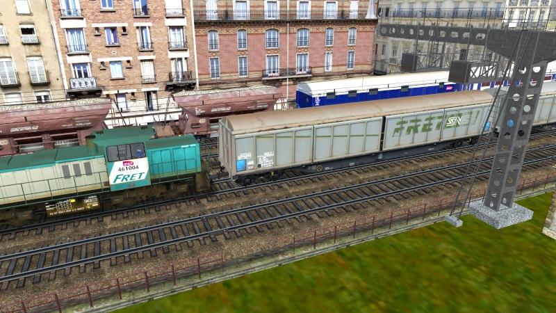 Wagon Habils SNCF FRET Giraud45