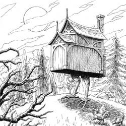 De toile, de bois ou de bric et de broc : les cabanes. Babaya10