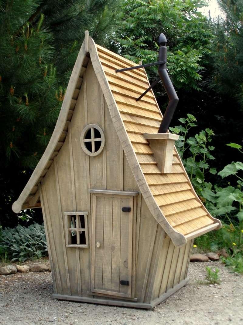 De toile, de bois ou de bric et de broc : les cabanes. Dsc03410
