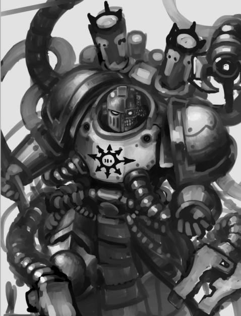 [W40K] Collection d'images : Space Marines du Chaos - Page 9 I2o0lr10