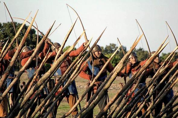 Bataille Azincourt 25 octobre 1415 00000611
