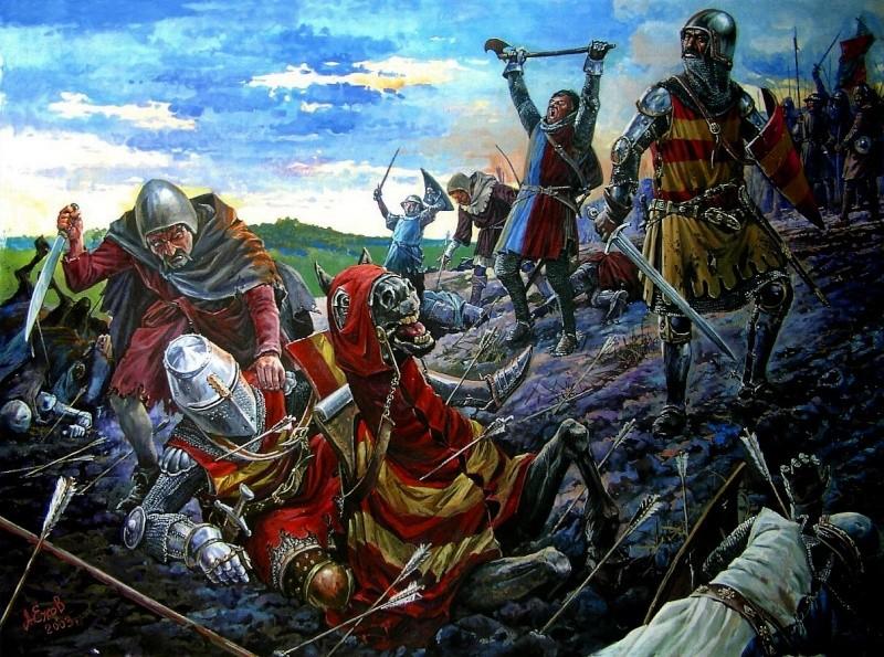 Bataille Azincourt 25 octobre 1415 13460811