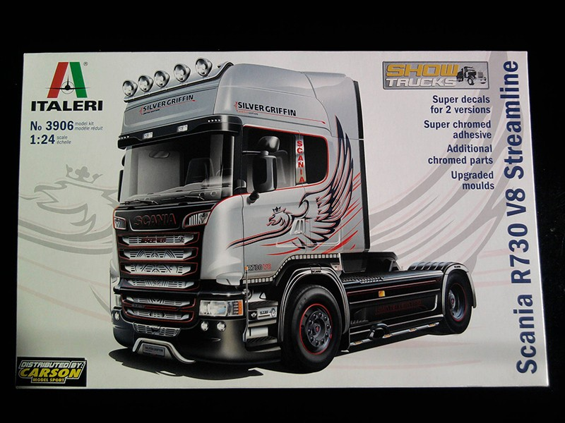 Italeri Scania R730 V8 Streamline 1:24 01_13