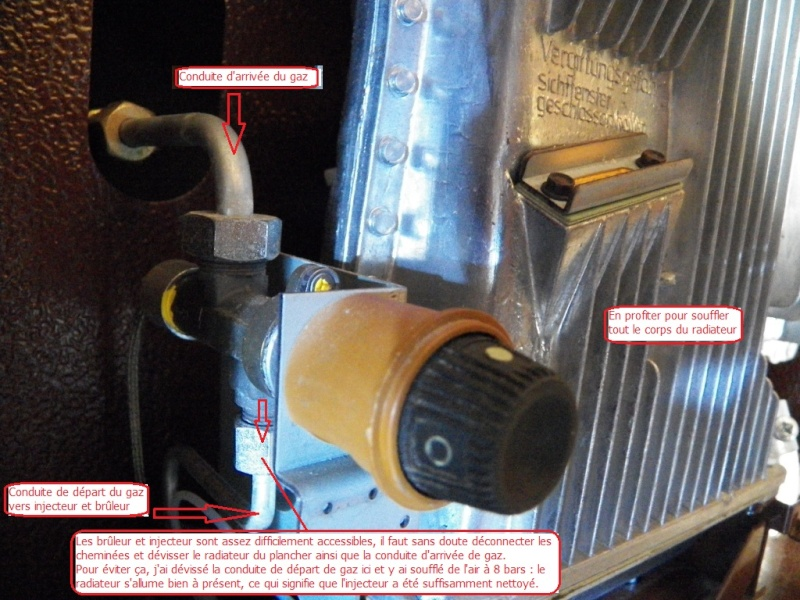 Révision du chauffage 2radia10