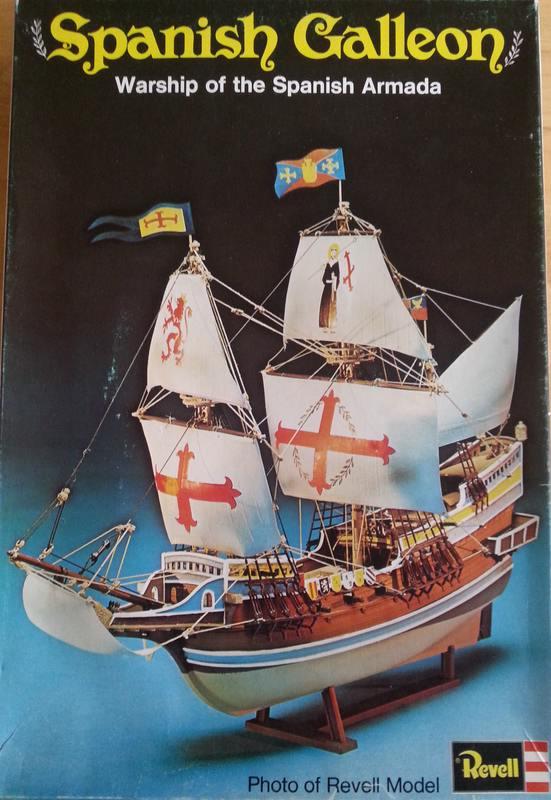 Spanish Galeon, Warship of the Spanish Armarda, Revell Comp_211