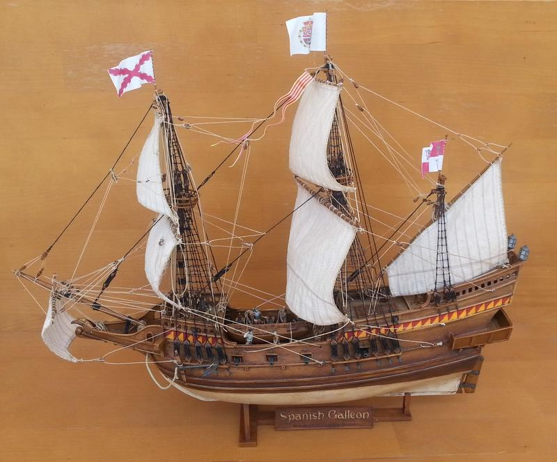 Spanish Galeon, Warship of the Spanish Armarda, Revell Comp_212