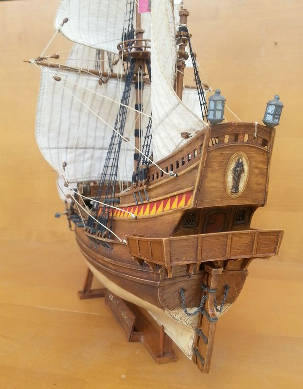 Spanish Galeon, Warship of the Spanish Armarda, Revell Comp_214
