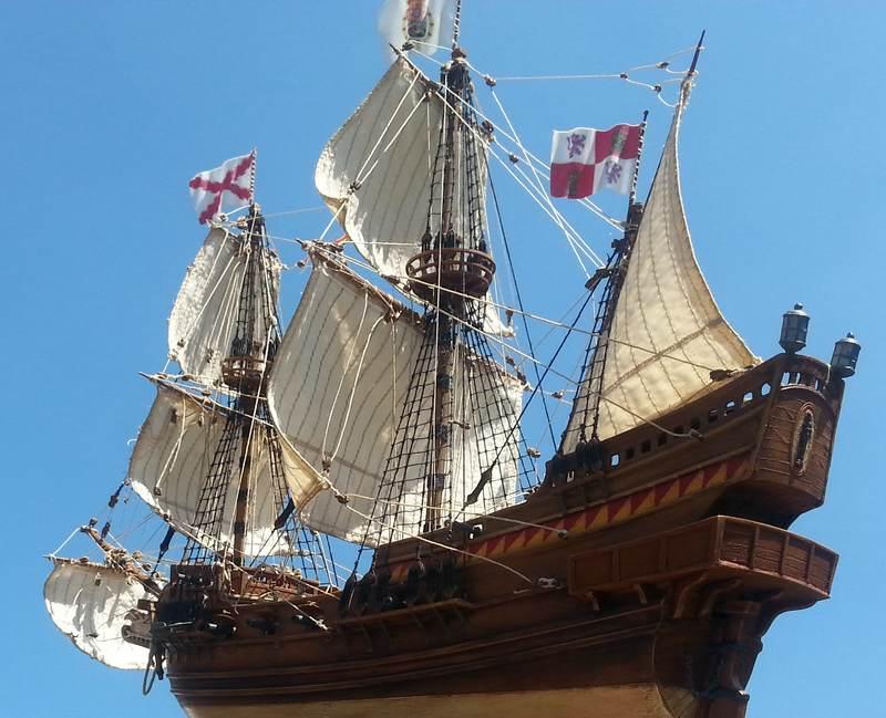 Spanish Galeon, Warship of the Spanish Armarda, Revell Comp_217