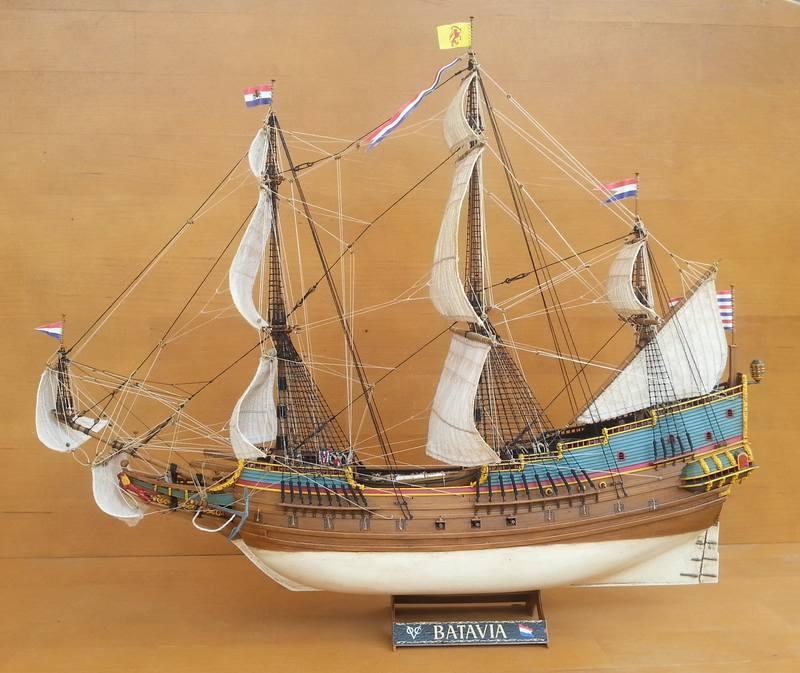 VOC-Retourship BATAVIA 1/150, Revell Comp_218