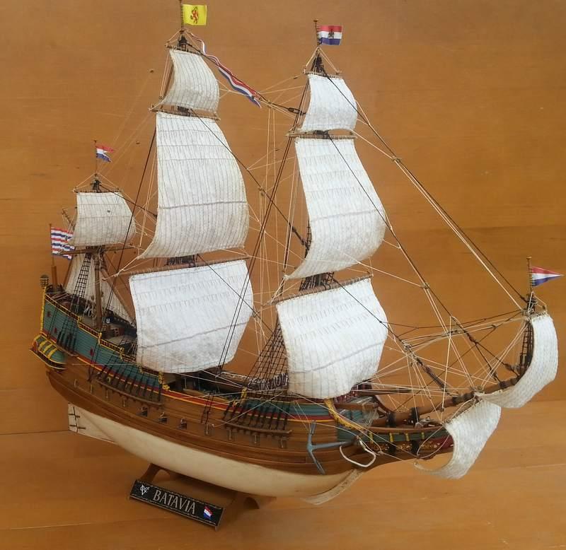 VOC-Retourship BATAVIA 1/150, Revell Comp_219