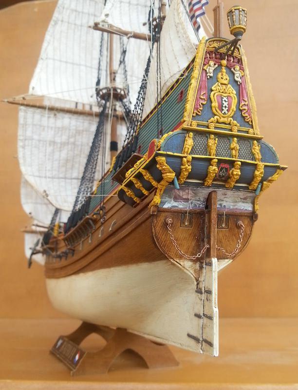 VOC-Retourship BATAVIA 1/150, Revell Comp_220