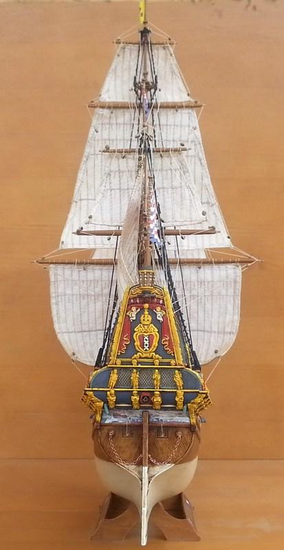 VOC-Retourship BATAVIA 1/150, Revell Comp_221