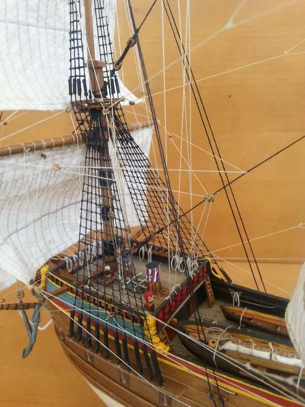 VOC-Retourship BATAVIA 1/150, Revell Comp_222