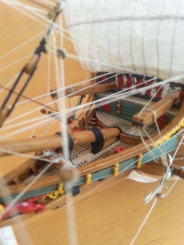 VOC-Retourship BATAVIA 1/150, Revell Comp_224