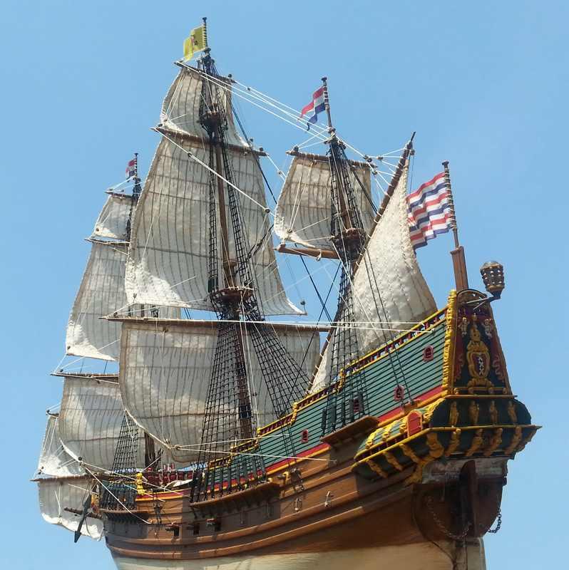 VOC-Retourship BATAVIA 1/150, Revell Comp_227