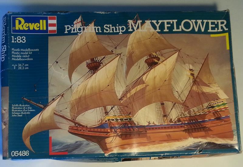 Mayflower / Revell, 1:83? Comp_282