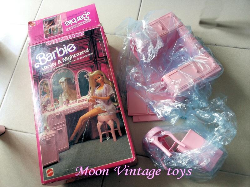 [VENDO] Barbie Sweet Roses set vanity+accessori 1987 Vintage Mattel 20151010