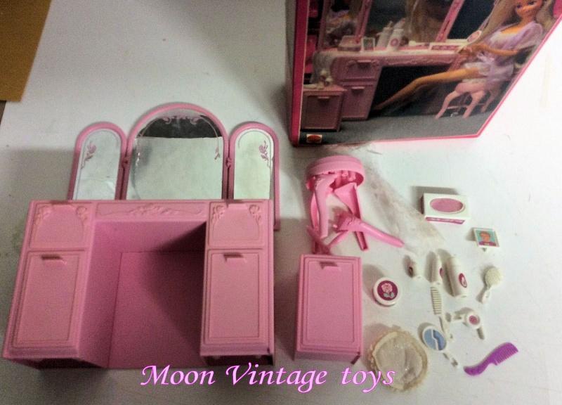 [VENDO] Barbie Sweet Roses set vanity+accessori 1987 Vintage Mattel _57_110