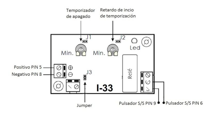 Módulo para desconectar el start/stop automáticamente al arrancar el coche Tempor10