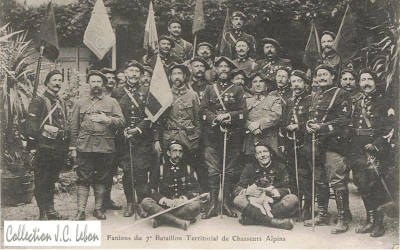 Les fanions de 1914 à nos jours Tao10
