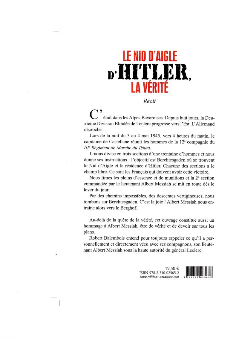 Balembois R. : Le Nid d'Aigle d'Hitler La Vérité Bergho11