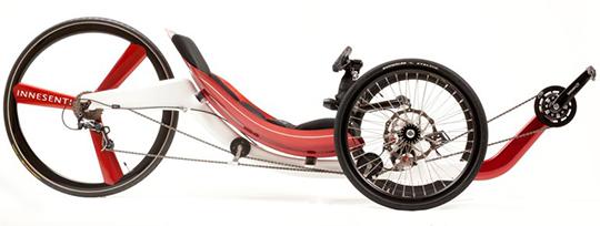 Trikes cadre carbone monocoque superlight Backwa10