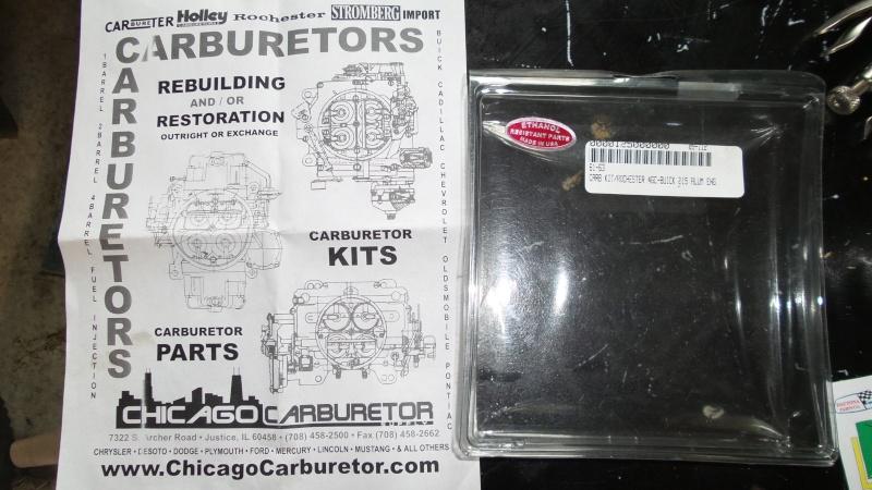 Carb Rebuild kits 20150910