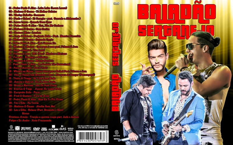 Baladão Sertanejo 2015 DVD-R Balad210
