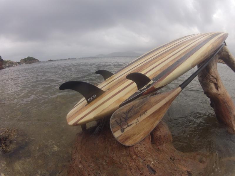construction d un stand up paddle bois agave  Gopr8210