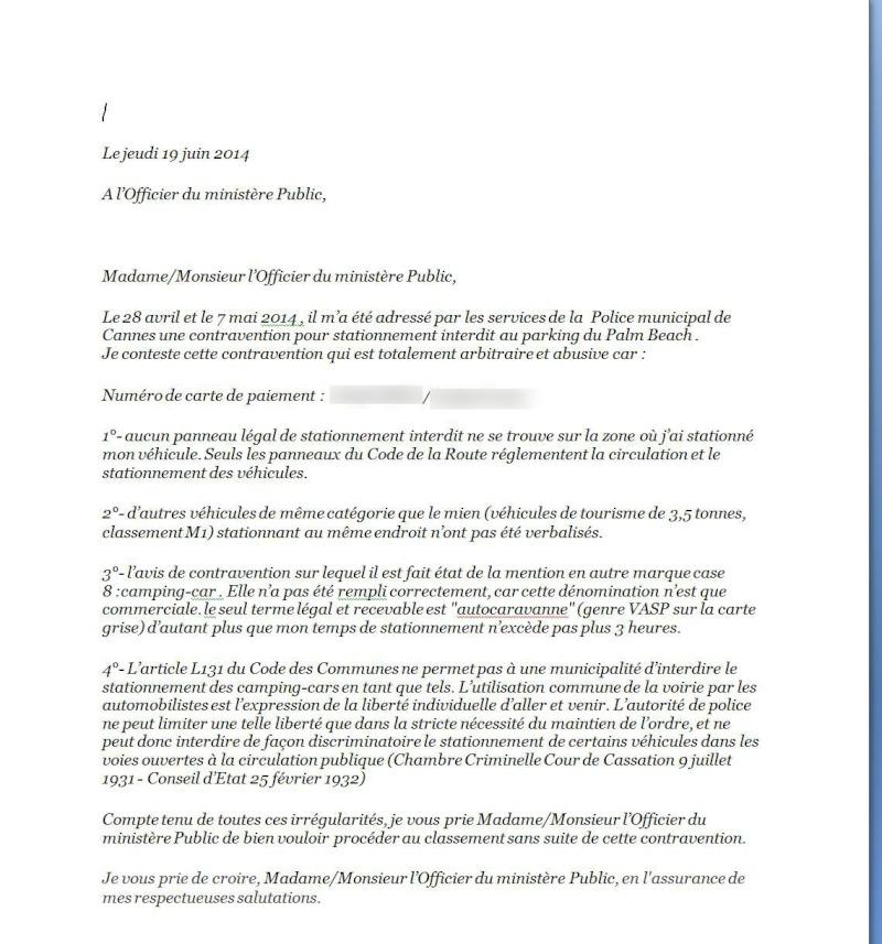 Droit d'accueil et stationnement - Page 2 Lettre10