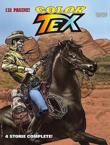 Minaccia nelle tenebre e altre storie (Color Tex n.8) Texcol10
