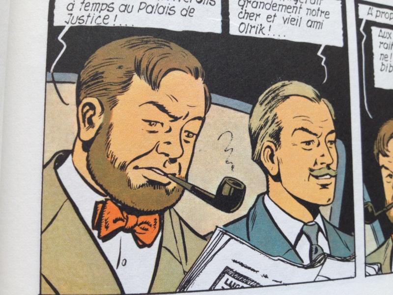 Deux fumeurs de pipe célèbres  : Blake et Mortimer  Img1410