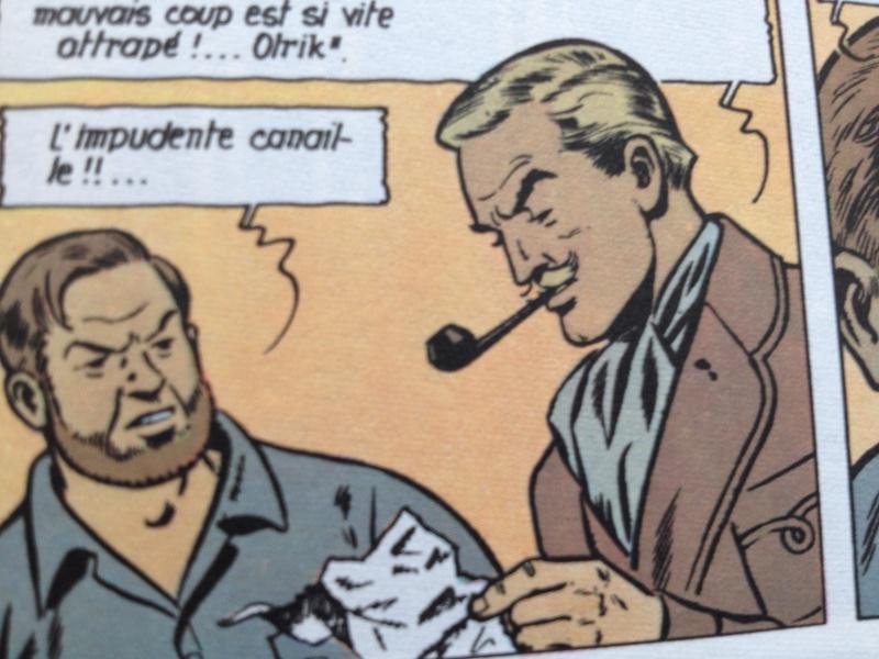 Deux fumeurs de pipe célèbres  : Blake et Mortimer  Img1510