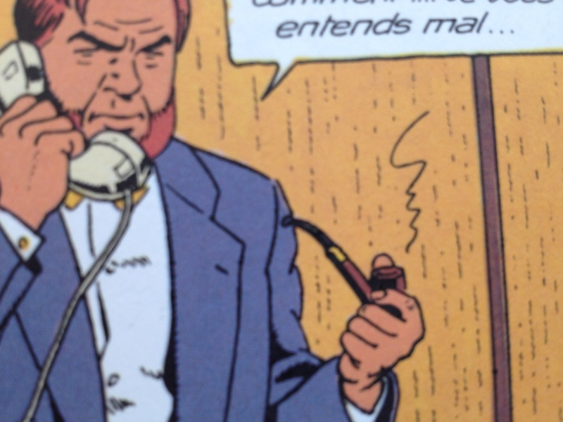 Deux fumeurs de pipe célèbres  : Blake et Mortimer  Img1710