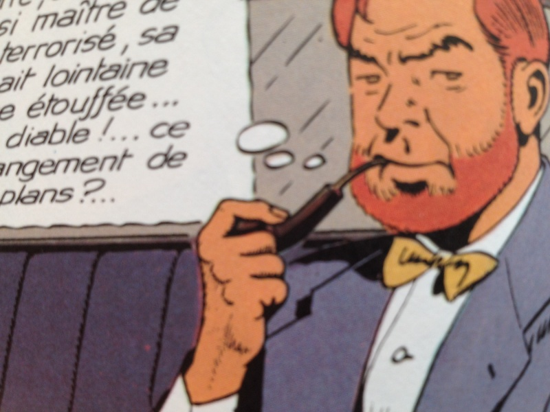 Deux fumeurs de pipe célèbres  : Blake et Mortimer  Img1810