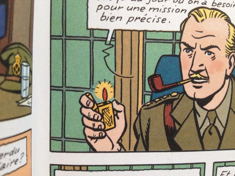 Deux fumeurs de pipe célèbres  : Blake et Mortimer  Img2110