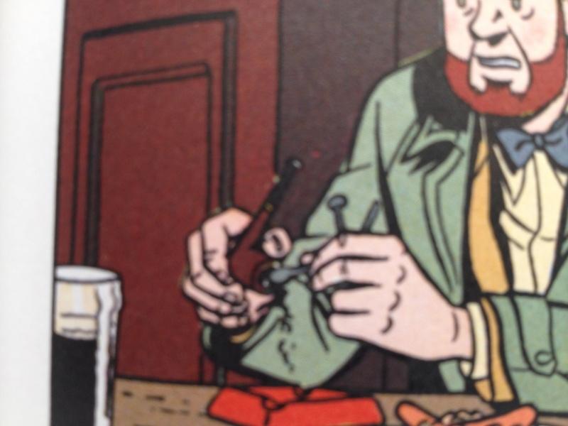 Deux fumeurs de pipe célèbres  : Blake et Mortimer  Img2310