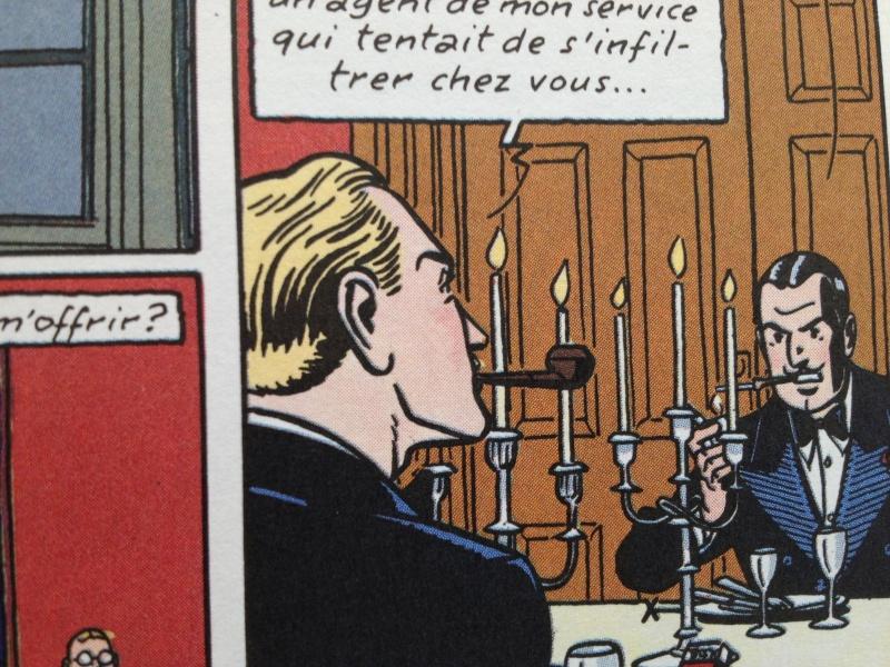Deux fumeurs de pipe célèbres  : Blake et Mortimer  Img2410