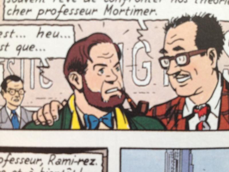 Deux fumeurs de pipe célèbres  : Blake et Mortimer  Img2610