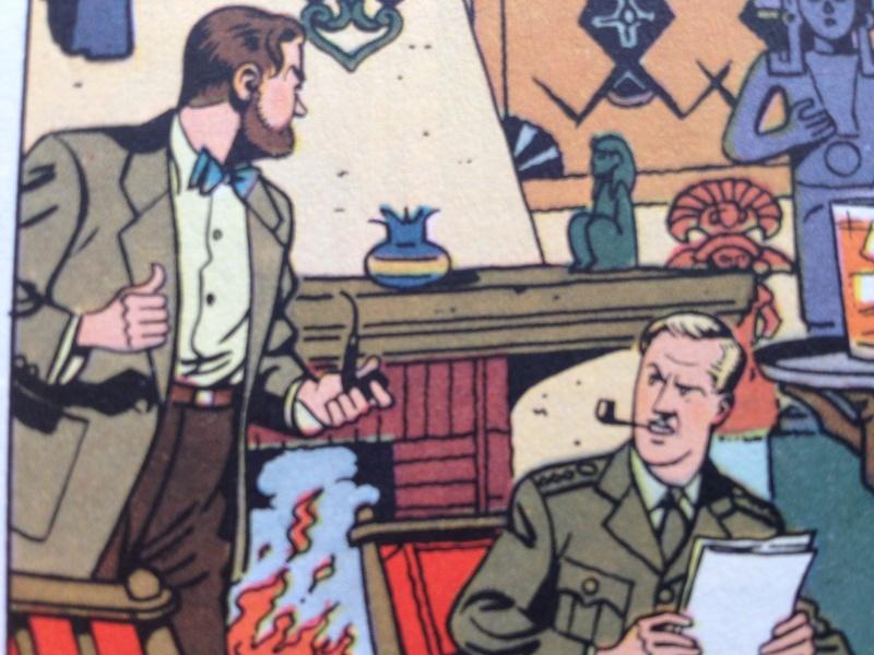 Deux fumeurs de pipe célèbres  : Blake et Mortimer  Img611