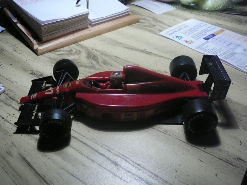 Ferrari  F60  de Tamiya au 1/20° Ww10